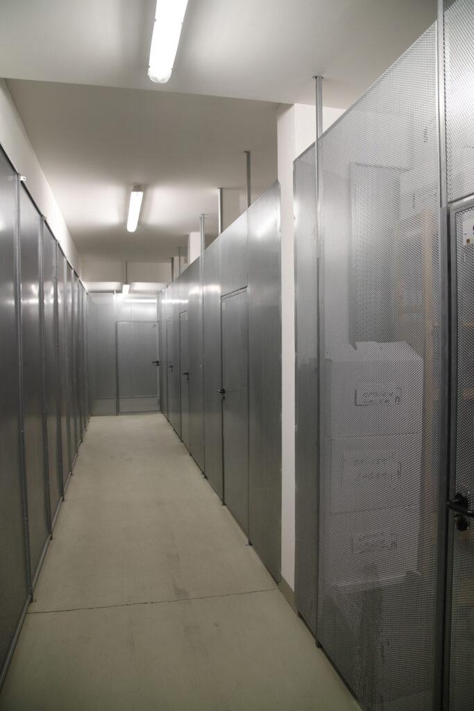 Archivfläche im Keller